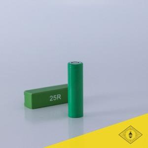 Samsung - 25R 18650 battery 20A 2500 mAh