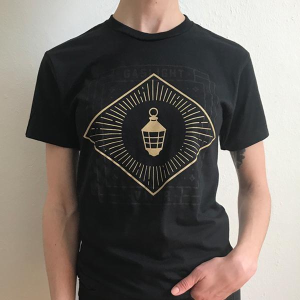 Gaslight Lantern Logo T-shirt (Black)