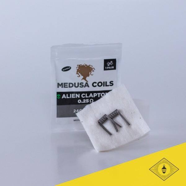 Medusa - Prebuilt Coils - Alien Clapton