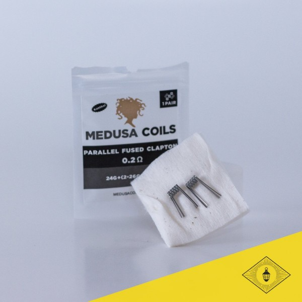 Medusa - Prebuilt Coils - Parallel Fused Clapton