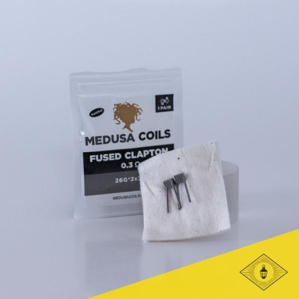 Medusa - Prebuilt Coils - Fused Clapton