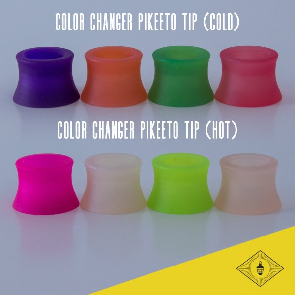 Double Helix Designs - Pikeeto Drip Tips for Aspire Cleito Tanks